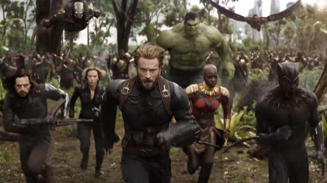 'Infinity War' Diprediksi Raup Rp2,75 T di Pekan Pembukaan AS