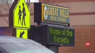 VIDEO: Pelaku Penembakan SMA Maryland Tewas dalam Baku Tembak