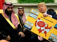 Wow! Demi Minyak, Trump Tega Ancam Arab Saudi