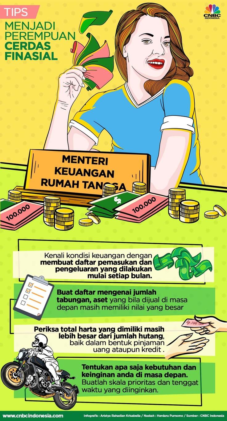 Perempuan dikenal sebagai Menteri Keuangan Rumah Tangga, supaya pengeluaran dan pemasukan semakin ciamik berikut tipsnya