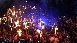 FOTO: Merayakan Tahun Baru ala Kaum Majusi