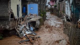 Tak Ada Hujan, Banjir Bandang Hantam Desa di Gorontalo