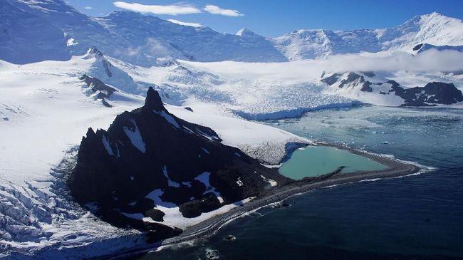 Pemanasan Global, 252 Miliar Ton Es Mencair di Antartika