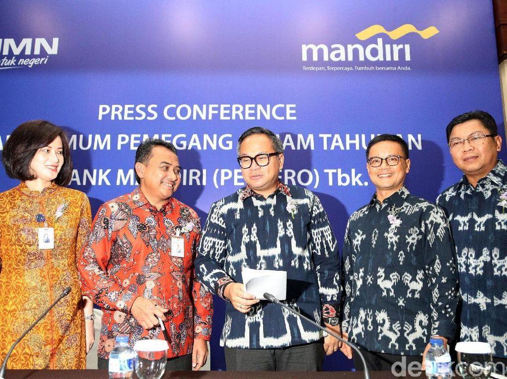 RUPST Bank Mandiri Sepakat Bagi-bagi Dividen Rp 9,2 Triliun