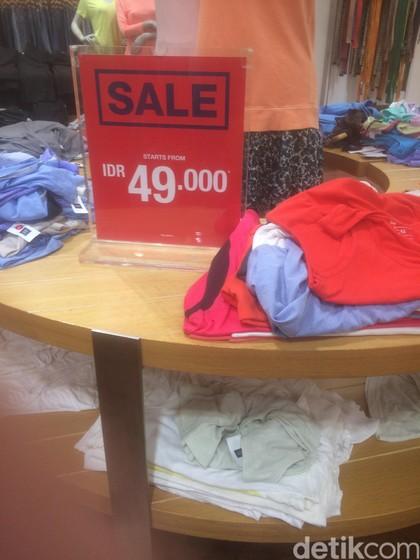 Gap Diskon Hingga 70%, T-shirt Mulai dari Rp 49 Ribu
