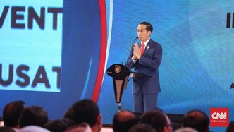Jokowi Bantah Sentil Hary Tanoe Lewat Mars Perindo