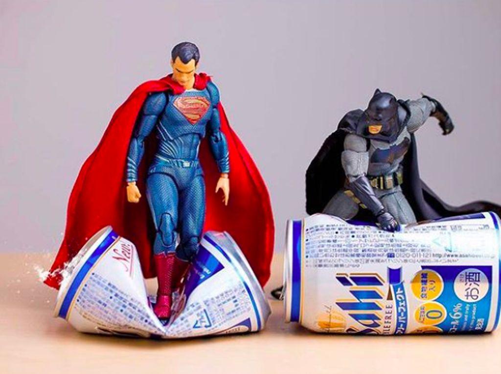 Potret Kocak Kehidupan Sehari-hari Para Superhero