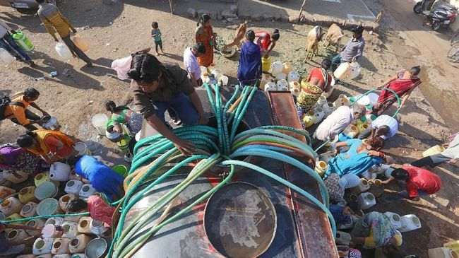 India Hadapi Krisis Air Terparah Sepanjang Sejarah