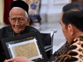 Sambangi DPR, Nyak Sandang Kembali Sampaikan Ingin Naik Haji