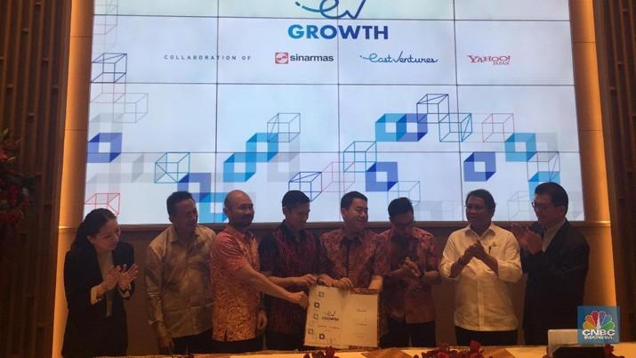 Sinar Mas-Yahoo Jepang Siapkan Dana untuk Start Up Rp 2,06 T