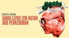 Zulkifli Hasan, Juara Lepas Izin Hutan Jadi Perkebunan