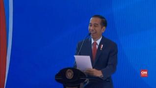 'Doktrin' Infrastruktur ala Jokowi di Acara Kementerian