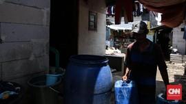 Pipa PDAM yang Pecah di Kota Bandung Rampung Diperbaiki