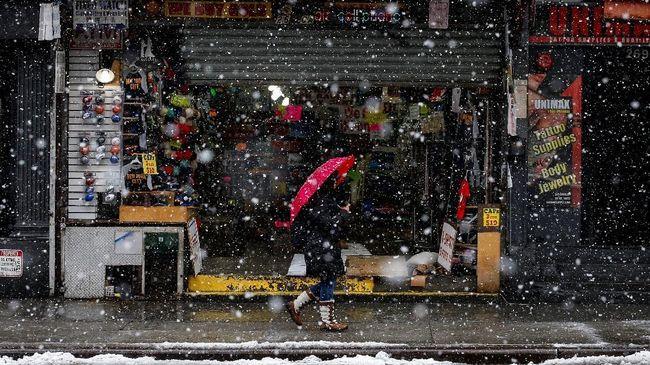 Cuaca Ekstrem, WNI di AS Masih Beraktivitas Seperti Biasa