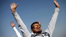 FOTO: Menyambut Sang Surya di Piramida Matahari