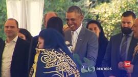 VIDEO: Tarian Maori Menyambut Obama di Selandia Baru