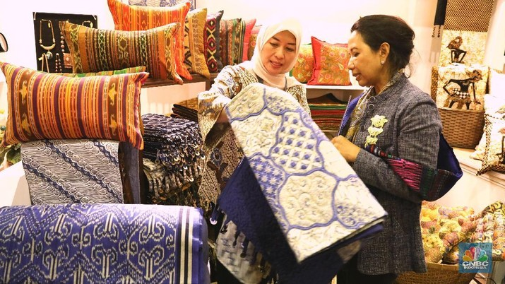 Telkom Craft Indonesia merupakan pameran tahunan produk-produk terbaik khas nusantara.