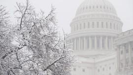 FOTO:  Badai Salju Ekstrem Kembali Melanda Amerika Serikat