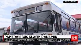 Pameran Bus Klasik dan Unik