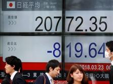 Cemaskan Perang Dagang, Bursa Jepang Dibuka Stagnan