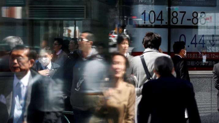 Bursa Saham Jepang Terkoreksi 0,31% Hari Ini