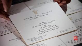 VIDEO: Undangan Bersepuh Emas Pangeran Harry-Meghan Markle