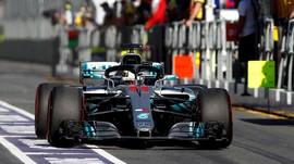 Hamilton Dominasi Hari Pertama Latihan Bebas F1 GP Australia