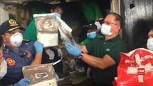 VIDEO: Polisi Filipina Musnahkan Lebih dari Satu Ton Narkoba