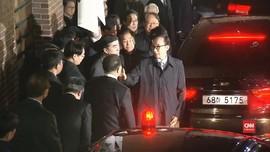 VIDEO: Momen Penangkapan Eks-Presiden Korsel Lee Myung-bak