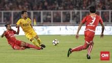 Babak I: Bhayangkara FC vs Persija Jakarta Imbang Tanpa Gol