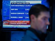 Kekhawatiran Inflasi Kian Reda, Dow Futures Menguat Tipis