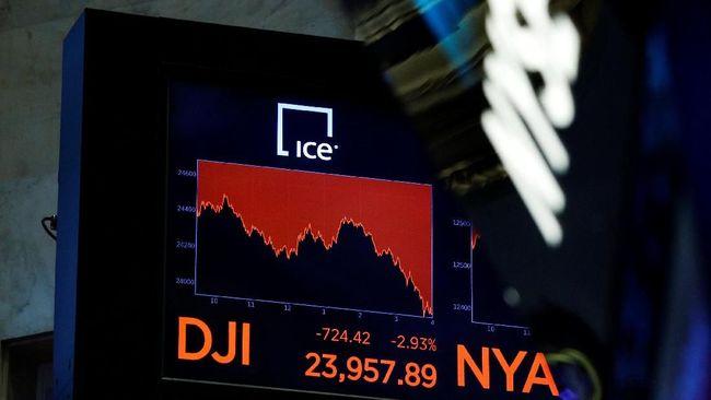 Abaikan Data Pengangguran yang Ciamik, Dow Jones Dibuka Merah