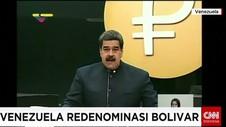 Venezuela Redenominasi Bolivar