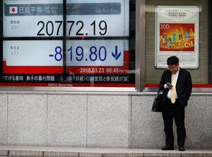 AS Siap Batasi Investasi China, Bursa Saham Asia Meradang