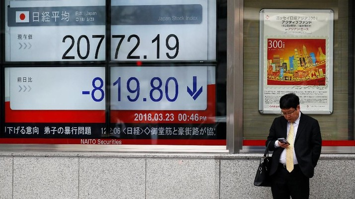 Kasus Bos Nissan Bikin Bursa Jepang Anjlok