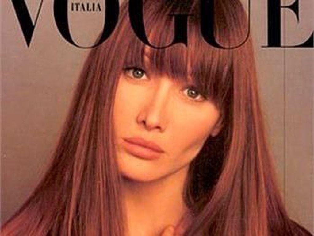 Cantiknya Carla Bruni, Mantan Ibu Negara Prancis yang Tak Menua di Usia 50