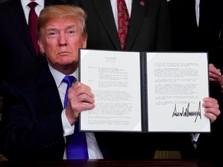 Trump Klaim China Bakal Teken Kesepakatan Dagang dengan AS