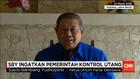 SBY Ingatkan Soal Utang Indonesia