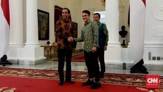 Presiden Jokowi: Egy Maulana Sudah Mirip Orang Polandia