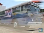 Bernostalgia Melihat Deretan Bus Klasik