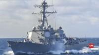 VIDEO: Kapal Perang AS Masuk LCS, China Protes