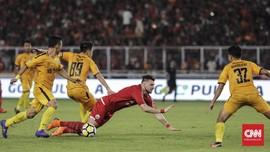 FOTO: Persija Ditahan Imbang Bhayangkara FC