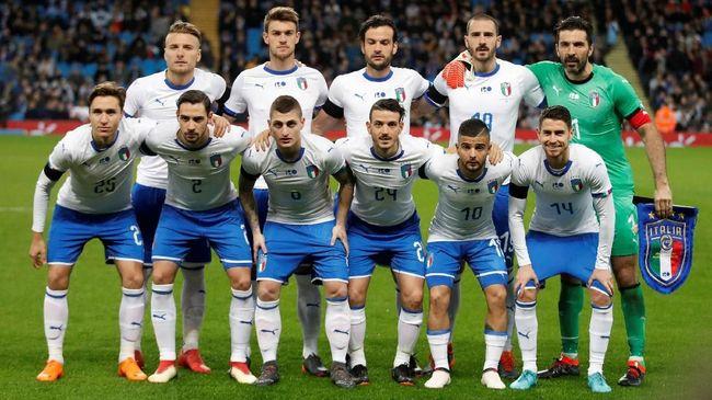 Timnas Italia Raih Peringkat Terburuk FIFA dalam Sejarah