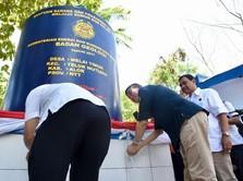 Menteri Jonan Resmikan Sumur Bor Air di NTT