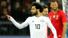 Mohamed Salah Cadangan pada Duel Mesir Lawan Uruguay
