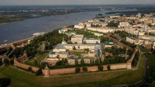 Nizhny Novgorod, 'Rumah' Maxim Gorky yang Dibelah Sungai