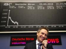 Bursa Eropa Menguat Jelang Perundingan Dagang AS-China