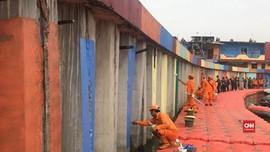 VIDEO: Mengintip Kampung Warna Danau Sunter