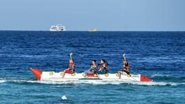 FOTO: Tergoda Rayuan Biru di Laut Merah