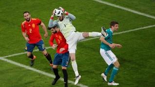 Jelang Laga Spanyol vs Portugal, De Gea Pelajari Ronaldo